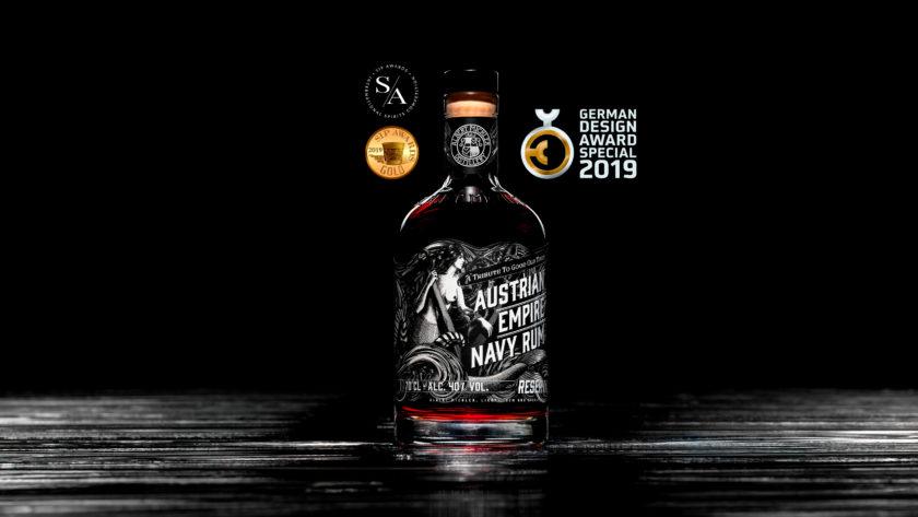 Austrian Empire <br>Navy Rum<br>