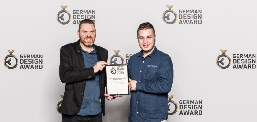 The award ceremony of the German Design Award 2019 in Frankfurt am Main